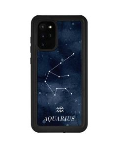 Aquarius Constellation Galaxy S20 Plus Waterproof Case