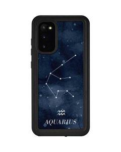 Aquarius Constellation Galaxy S20 Waterproof Case