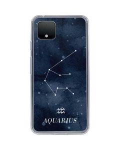 Aquarius Constellation Google Pixel 4 XL Clear Case