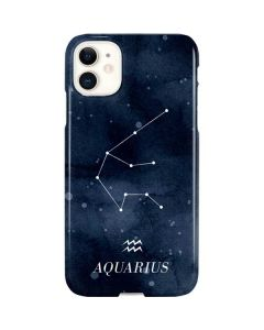 Aquarius Constellation iPhone 11 Lite Case