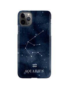 Aquarius Constellation iPhone 11 Pro Max Lite Case