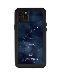 Aquarius Constellation iPhone 11 Pro Max Waterproof Case