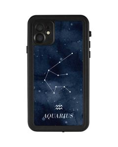 Aquarius Constellation iPhone 11 Waterproof Case