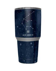 Aquarius Constellation Yeti 30z Rambler Tumbler Skin