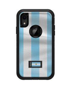 Argentina Soccer Flag Otterbox Defender iPhone Skin