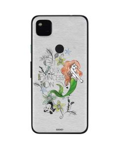 Ariel and Flounder Google Pixel 4a Skin