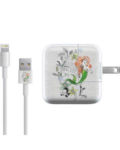 Ariel and Flounder iPad Charger (10W USB) Skin