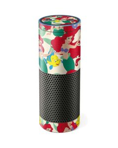 Ariel and Flounder Pattern Amazon Echo Skin