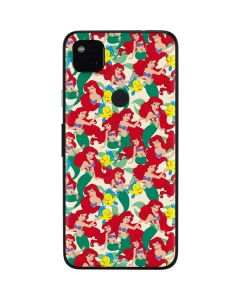 Ariel and Flounder Pattern Google Pixel 4a Skin