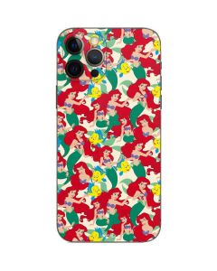 Ariel and Flounder Pattern iPhone 12 Pro Skin