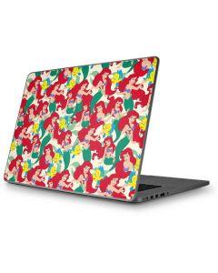 Ariel and Flounder Pattern Apple MacBook Pro 17-inch Skin