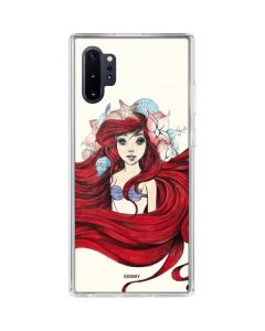 Ariel Illustration Galaxy Note 10 Plus Clear Case