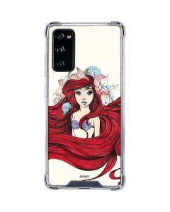Ariel Illustration Galaxy S20 FE Clear Case