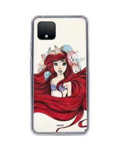 Ariel Illustration Google Pixel 4 XL Clear Case