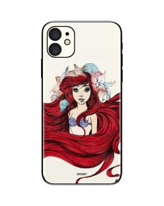Ariel Illustration iPhone 11 Skin