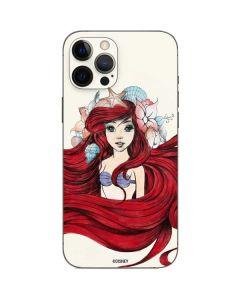 Ariel Illustration iPhone 12 Pro Max Skin