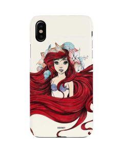 Ariel Illustration iPhone XS Max Lite Case