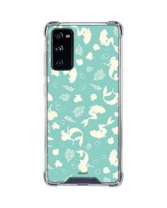 Ariel Under the Sea Print Galaxy S20 FE Clear Case