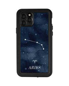 Aries Constellation iPhone 11 Pro Waterproof Case