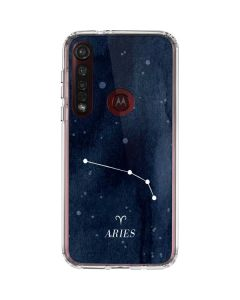 Aries Constellation Moto G8 Plus Clear Case