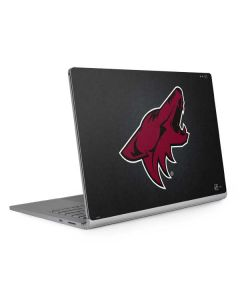 Arizona Coyotes Black Background Surface Book 2 15in Skin