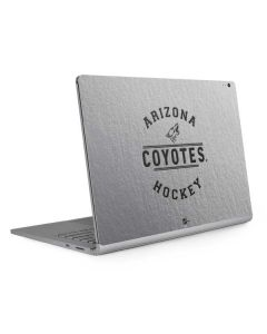 Arizona Coyotes Black Text Surface Book 2 15in Skin