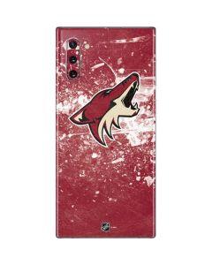 Arizona Coyotes Frozen Galaxy Note 10 Skin