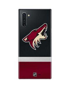 Arizona Coyotes Jersey Galaxy Note 10 Skin