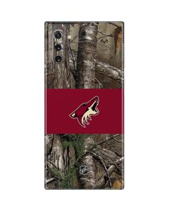 Arizona Coyotes Realtree Xtra Camo Galaxy Note 10 Skin