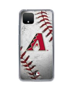 Arizona Diamondbacks Game Ball Google Pixel 4 XL Clear Case