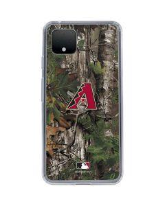 Arizona Diamondbacks Realtree Xtra Green Camo Google Pixel 4 XL Clear Case