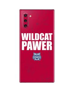 Arizona Wildcat Power Galaxy Note 10 Skin