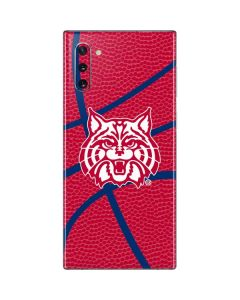 Arizona Wildcats Red Basketball Galaxy Note 10 Skin
