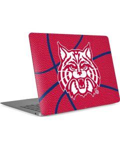 Arizona Wildcats Red Basketball Apple MacBook Air Skin