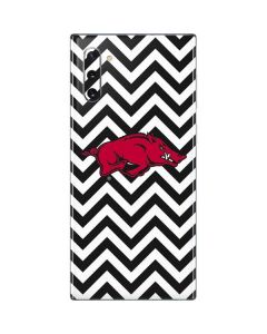 Arkansas Chevron Print Galaxy Note 10 Skin