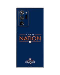 Astros Nation Galaxy Note20 Ultra 5G Skin