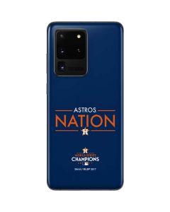Astros Nation Galaxy S20 Ultra 5G Skin