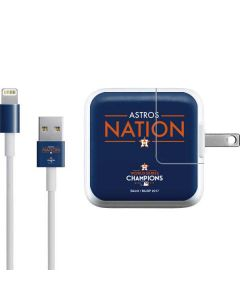 Astros Nation iPad Charger (10W USB) Skin