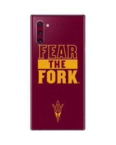ASU Arizona Fear the Fork Galaxy Note 10 Skin