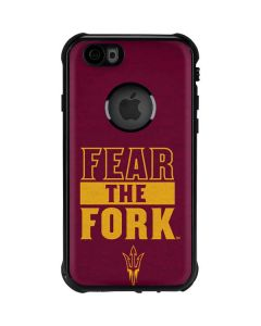 ASU Arizona Fear the Fork iPhone 6/6s Waterproof Case