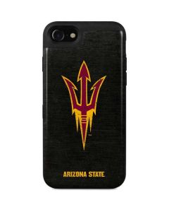 ASU Arizona Pitchfork iPhone SE Wallet Case