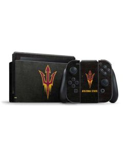 ASU Arizona Pitchfork Nintendo Switch Bundle Skin