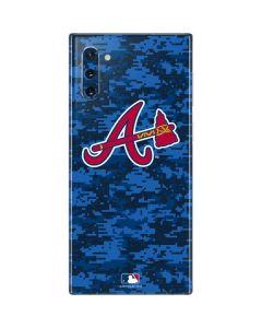 Atlanta Braves Digi Camo Galaxy Note 10 Skin