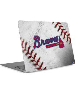Atlanta Braves Game Ball Apple MacBook Air Skin