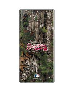 Atlanta Braves Realtree Xtra Green Camo Galaxy Note 10 Skin