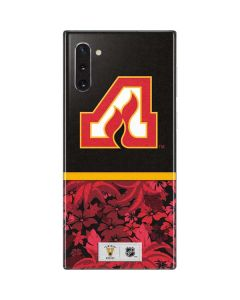 Atlanta Flames Retro Tropical Print Galaxy Note 10 Skin