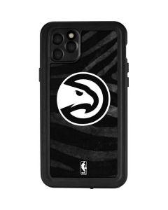 Atlanta Hawks Black Animal Print iPhone 11 Pro Max Waterproof Case