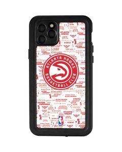 Atlanta Hawks Blast iPhone 11 Pro Max Waterproof Case