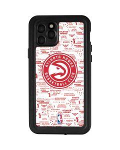 Atlanta Hawks Blast iPhone 11 Pro Waterproof Case