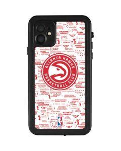 Atlanta Hawks Blast iPhone 11 Waterproof Case
